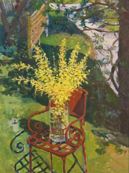Herb Edwards - STILL LIFE with RUSTED CHAIR  40x30  OIL-resized 1.jpg